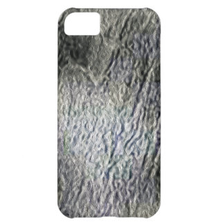 MOLTEN silver AQUA MELTED METAL DIGITAL ABSTRACT R iPhone 5C Cases
