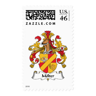 Molter Family Crest Stamps