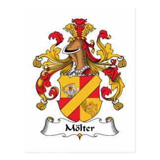 Molter Family Crest Post Card