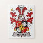 Moltke Family Crest Puzzle