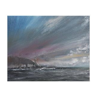 Moltke Jutland 1916. 2014 Canvas Print