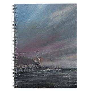 Moltke Jutland 1916. 2014 Spiral Notebook