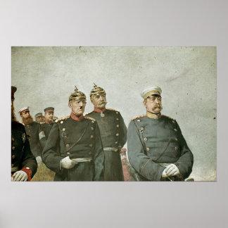 Moltke y Bismarck Póster