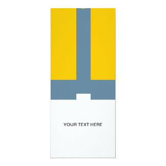 Molto 4x9.25 Paper Invitation Card