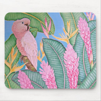 Moluccan Cockatoo Mouse Pad
