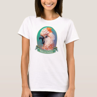 Moluccan Cockatoo realistic painting T-Shirt