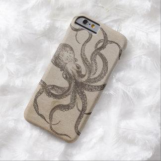 Molusco del animal del océano de las criaturas del funda para iPhone 6 barely there