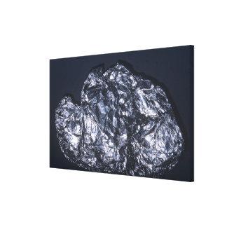 Molybdenite (MoS2), the main ore of Molybdenum Canvas Print