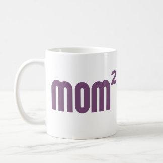 Mom2 Mom Squared Exponentially Coffee Mug