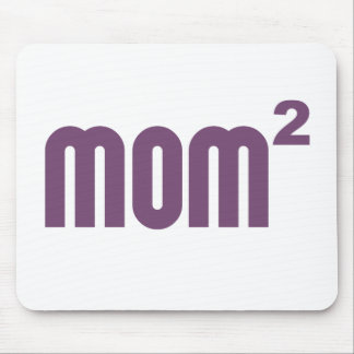 Mom2 Mom Squared Exponentially Mouse Pad