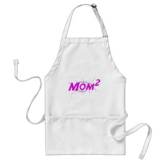 Mom2 Vector Adult Apron