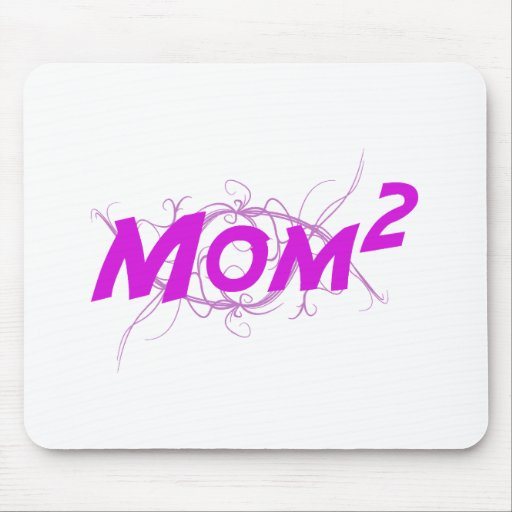 Mom2 Vector Mouse Pad