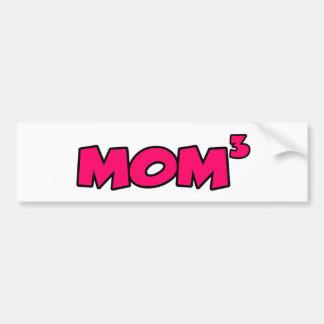 MOM3 ETIQUETA DE PARACHOQUE