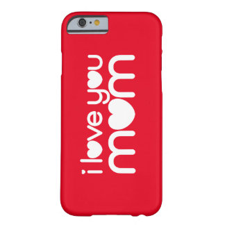 MOM ♥ 02 ♥ iPhone 6/6s, Barely There Barely There iPhone 6 Case