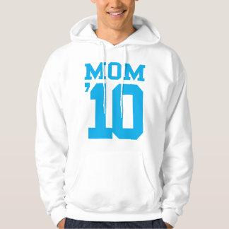 Mom '10 Blue Design Hoodie