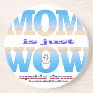 mom 1 sandstone coaster