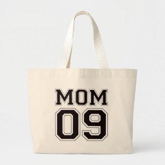 Mom 2009 - Black Large Tote Bag
