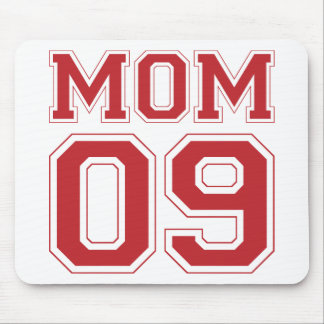 Mom 2009 - Red Mouse Pad