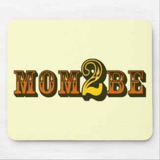 Mom 2 Be Mouse Pad