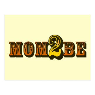 Mom 2 Be Postcard