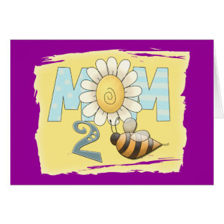 Mom 2 Bee Greeting Cards