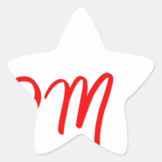 mom-2b-jell-red.png pegatina en forma de estrella