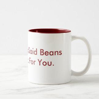 Mom Allways Said Two-Tone Coffee Mug