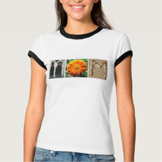 """""""MOM"""" Alphabet Photography Mother's Day T-Shirt"""