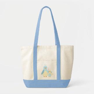Mom and Baby Bird Impulse Tote Bag