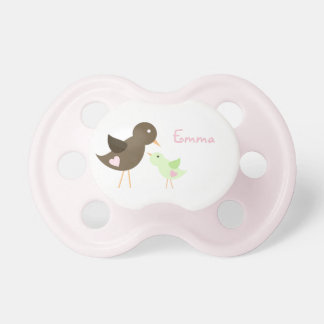 Mom and Baby Bird BooginHead Pacifier