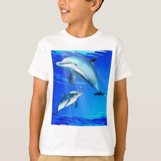 Mom and Baby Dolphin T-Shirt