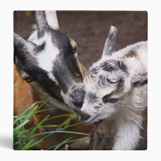 Mom and Baby Goat Binder