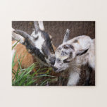 Mom and Baby Goat Jigsaw Puzzles