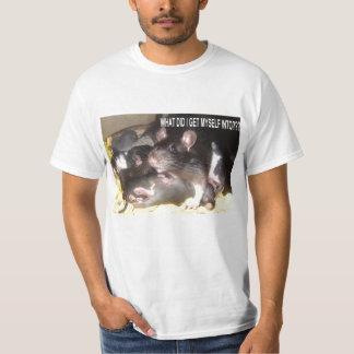 MOM AND BABY RATS FUNNY RAT SHIRT