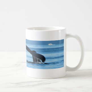 Mom and Baby Whales Tails.jpg Classic White Coffee Mug