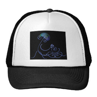 Mom and Carriage Trucker Hat