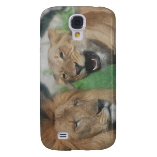 Mom and Dad Lion  iPhone 3G Case Samsung Galaxy S4 Cases