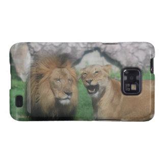 Mom and Dad Lion  Samsung Galaxy Case Galaxy S2 Cases