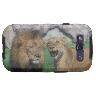 Mom and Dad Lion  Samsung Galaxy Case Galaxy SIII Cases