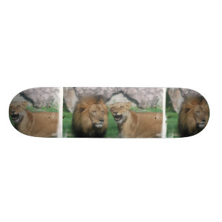 Mom and Dad Lion Skateboard