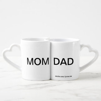 Mom And Dad Lovers Mugs