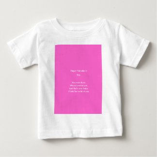 Mom and dad valentine's day baby T-Shirt