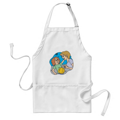 Mom And Daughter Adult Apron