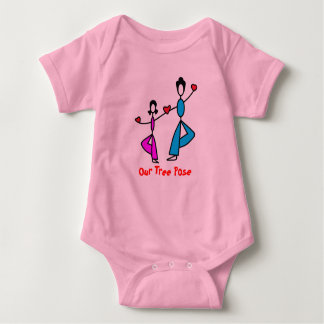 Mom and Daughter - Baby Yoga Clothes Tee Shirt