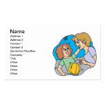 Mom And Daughter Business Card Templates