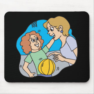 Mom And Daughter Mouse Pad