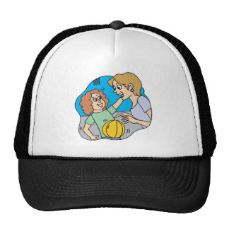 Mom And Daughter Trucker Hat