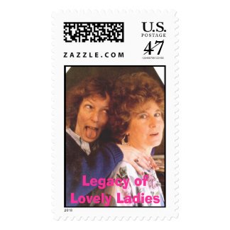 Mom and Mary, Legacy of Lovely Ladies Postage Stamp