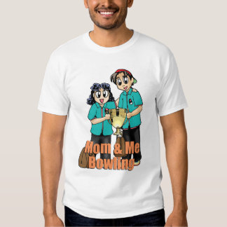 Mom and me bowling t-shirt