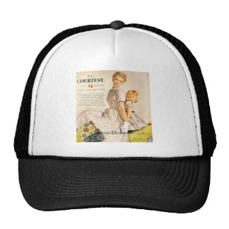 Mom and Me Vintage Fashion Trucker Hat